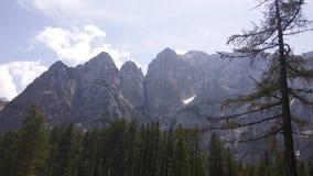 Montagnes de Julijci images libres de droits
