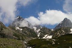 Montagnes de Kackar photo stock