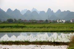 Montagnes de Karst Photos libres de droits