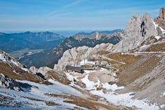 Montagnes de Karwendel Photos libres de droits