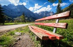 Montagnes de Karwendel Photos stock
