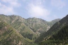 Montagnes de Kazakhstan Photos libres de droits
