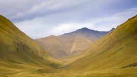 Montagnes de Kazbegian Image libre de droits