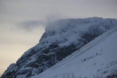 Montagnes de Khibiny Photographie stock libre de droits