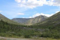 Montagnes de Khibiny Photo libre de droits