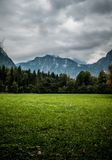 Montagnes de Koningssee Images stock