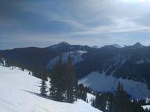 Montagnes de l'état de Washington Photos stock