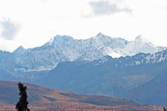Montagnes de l'Alaska Images stock
