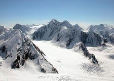 Montagnes de l'Alaska Photos libres de droits