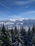 montagnes de l'Autriche Images libres de droits