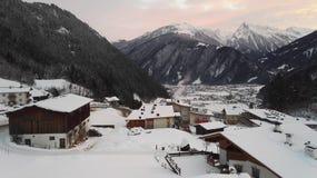 Montagnes de l'Autriche Image stock