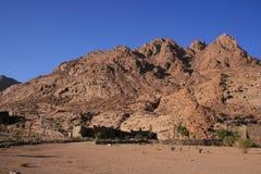 Montagnes de l'Egypte Images libres de droits
