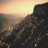 Montagnes de l'Equateur Photo libre de droits