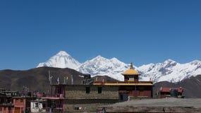 Montagnes de l'Himalaya Image libre de droits