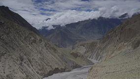 Montagnes de l'Himalaya, Népal Crête d'Annapurna Timelapse banque de vidéos