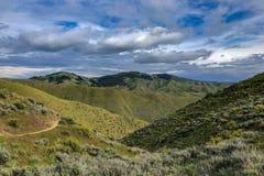 Montagnes de l'Idaho à Boise, Idaho au printemps Photos libres de droits