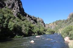 Montagnes de l'Idaho image libre de droits