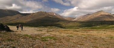 Montagnes de l'Islande Images libres de droits