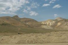 montagnes de l'Israël Photographie stock libre de droits