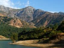 Montagnes de l'Ouzbékistan photos libres de droits