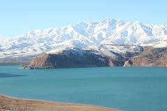Montagnes de l'Ouzbékistan Photographie stock libre de droits