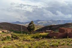 Montagnes de la Bolivie, altiplano Photo libre de droits
