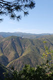 Montagnes de la Californie Images stock