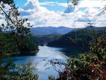 Montagnes de la Caroline du Nord Photos stock