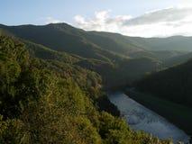 Montagnes de la Caroline du Nord Photographie stock libre de droits