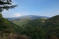 Montagnes de la Chypre photos libres de droits