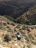 Montagnes de la Grèce Photographie stock libre de droits