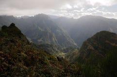 Montagnes de la Madère photos libres de droits