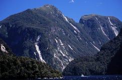 Montagnes de la Nouvelle Zélande Images libres de droits