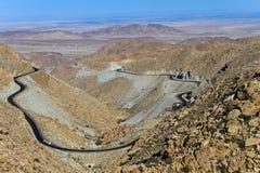 Montagnes de La Rumorosa Photo libre de droits