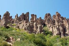 Montagnes de la superstition de l'Arizona Photographie stock libre de droits