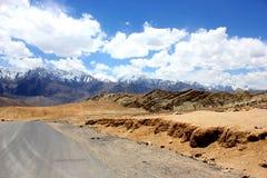 Montagnes de Ladakh Image libre de droits