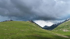 Montagnes de Lalusar près de Naran Images stock