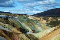 Montagnes de Landmannalaugar, Islande Image libre de droits