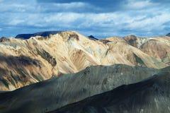 Montagnes de Landmannalaugar, Islande Photo stock