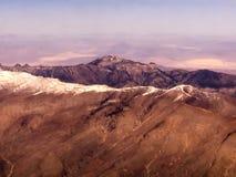 Montagnes de Las Vegas images libres de droits