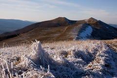 Montagnes de loup, relais de ³ de gà de wilcze, bieszczady Photos libres de droits