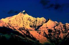 montagnes de meili Photos stock