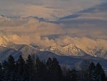Montagnes de Milou Photos libres de droits