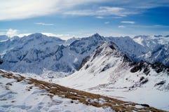Montagnes de Milou en Italie dans les montagnes photographie stock libre de droits