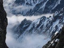 Montagnes de mystère Photos stock