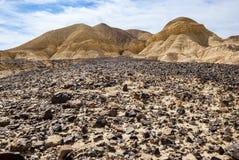Montagnes de Negev Photographie stock libre de droits