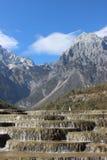 Montagnes de neige Photo libre de droits