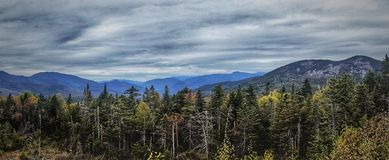 Montagnes de New Hampshire Images stock