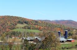 Montagnes de New Hampshire en automne Photo libre de droits