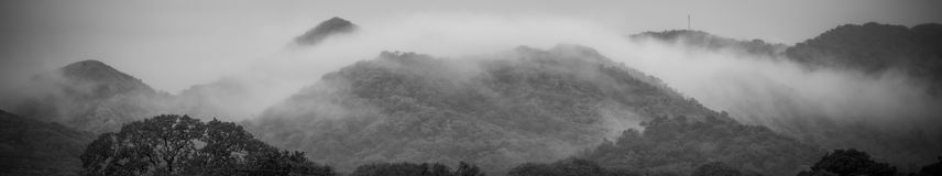 Montagnes de péninsule de Guanacaste photos libres de droits